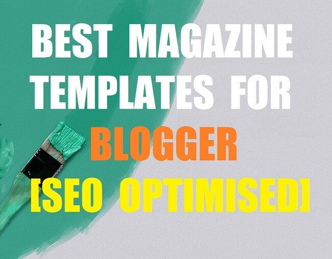 Best Magazine Templates For Blogger