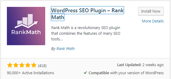 How to add Rank Math plugin to WordPress