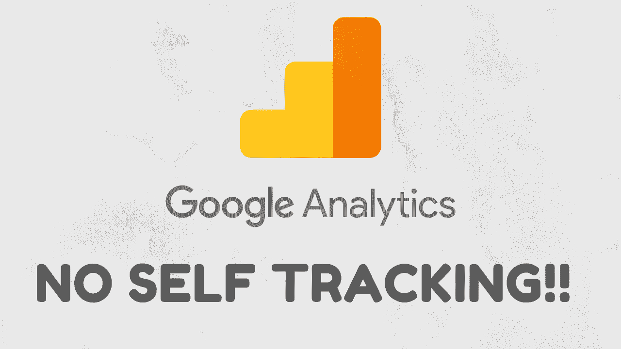 prevent self tracking in Google Analytics