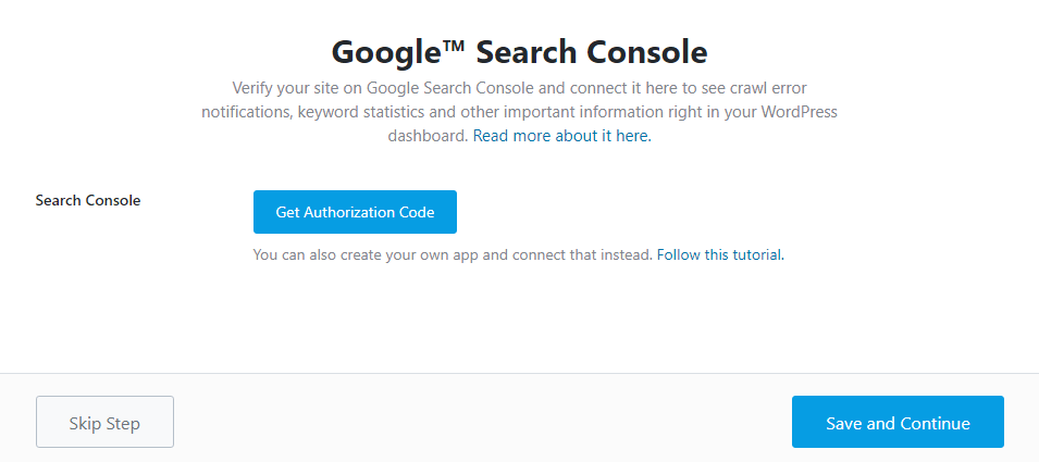 Google Search Console Integration With Rank Math
