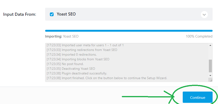 continue switching from Yoast SEO to Rank Math SEO
